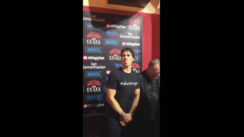 Hes so cute @iansomerhalder Chine fan video somerhalder cute credit to the owner and thank