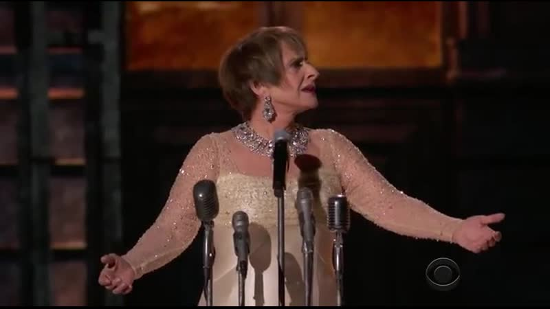 Patti Lupone Don't cry for me Argentina from Evita by Andrew Lloyd Webber and Tim Rice Grammy 2018 NY
