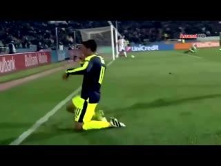 Mesut Ozils Goal Arsenal Vs Ludogorets Razgrad 01 11 16