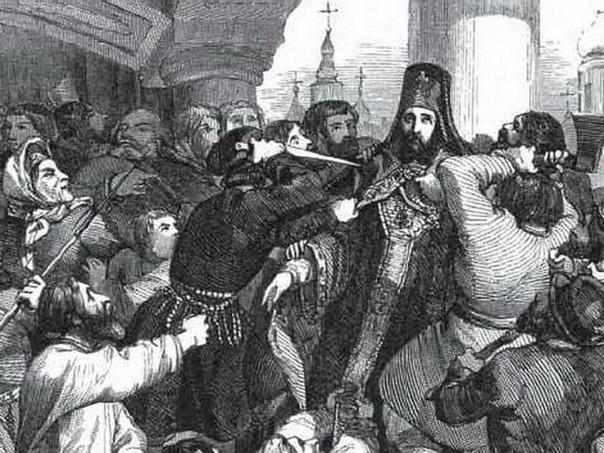 Чумной бунт. Москва, 15 сентября 17 сентября 1771 года. В ноябре 1770 года в Московском генеральном госпитале (теперь госпиталь имени Бурденко) умер офицер, доставленный с войны против Османской