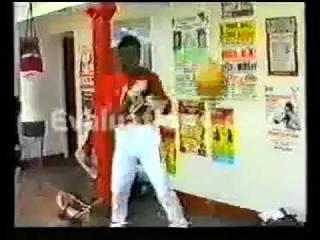 Nigel Benn vs Roberto Duran Sparring  . Rare Footage. 1988