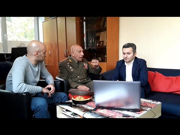 Арцах Нагорный Карабах Генерал Норат Тер Григорьянц о преступлениях Азербайджана и Турции Часть1