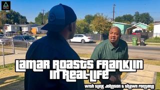 GTA V: Lamar Roasts Franklin in Real-Life (with Slink Johnson & Shawn Fonteno)