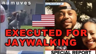 Black man executed for Jay-walking | Is USA the REAL concentration camp?
