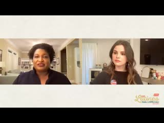 Spotlight Conversation with Selena Gomez and Stacey Abrams