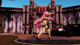 【MMD Vocaloid Test】Cyber Thunder Cider - Megurine Luka // REOL 「Test Model P.3」