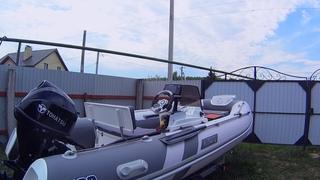 ЭТО СЛУЧИЛОСЬ. Оснастил лодку риб АЭРО ОРЛАН 400.