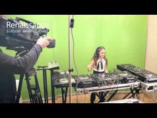 Запись видео-сета DJ Sash для телеканала ОНТ.  DJ-Studio «Renaissance».
