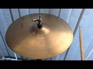 "SOLD! 14"" Vintage Zildjian Pre Serial New Beat Hi Hat Cymbals - 842/1321 Grams - Thin Stamp"