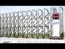 Cổng xếp tự động, cổng xếp inox LBSKY- Trúng thầu tại trường tiểu học Tân Lợi- Cà Mau