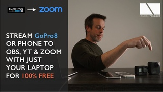 STREAM GOPRO into ZOOM - 100% FREE USING JUST YOUR MAC LAPTOP AND SOFTWARE - NO CAPTURE CARDS!