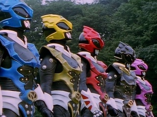 Power Rangers in Space  Power Rangers vs Psycho Rangers All Fights Compilation