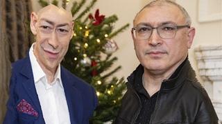 Гордон задаёт уточняющие вопросы Ходорковскому (на основе шутки про Барака Обаму)