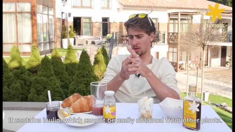 Breakfast with Peter Sagan Sunroot