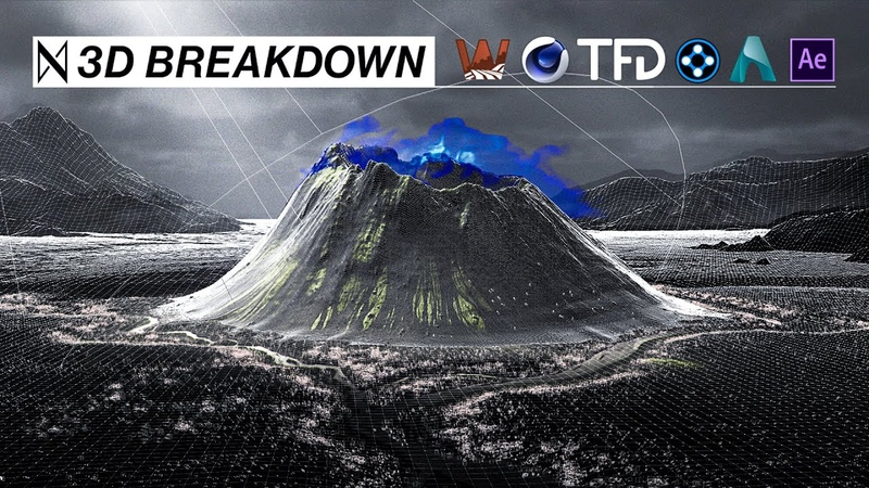 ᛞ 3D Breakdown | NORR (C4D, XP, TFD, Arnold, AE World Machine)