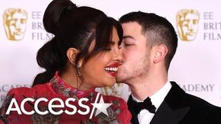 Priyanka Chopra & Nick Jonas Pack On PDA At BAFTAs
