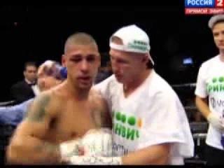 Боксер из Екатеринбурга заставил американца капитулировать с ринга в Вифлееме.