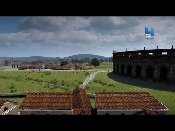 Римский город Карнунт Город гладиаторов Документальный фильм HD