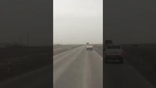 «Люди разбросаны»: авария произошла на Тенгизской трассе