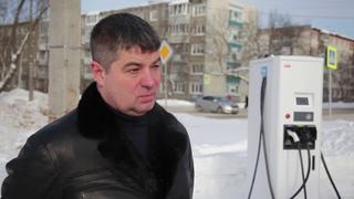Шесть станций для подзарядки электрокаров работают в Вологде