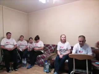Прямой эфир из квартиры где Тюменские инвалиды и многодетные мамы проводят акцию протеста.