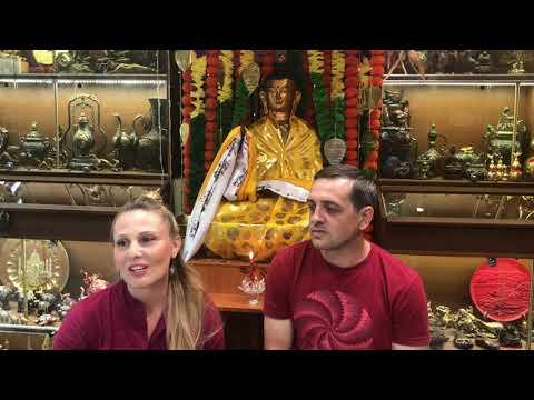 Медитация в горной пустыне посвящение Калачакры Игорь Литвинов и Пема Лютович