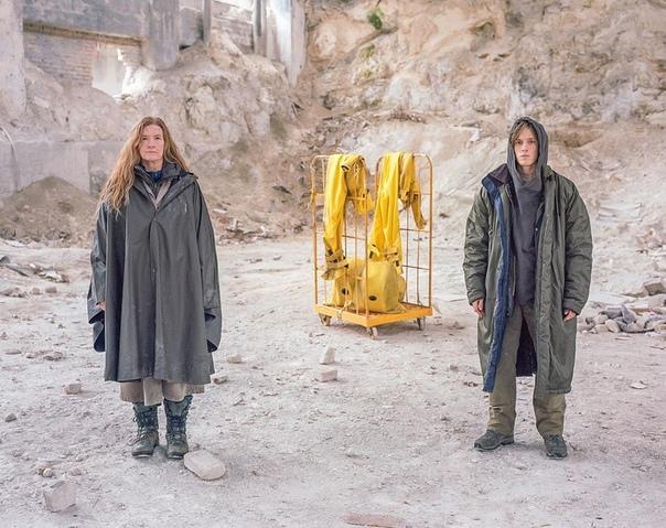 На съёмочной площадке третьего сезона «Тьмы», 2019 год