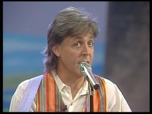 Paul McCartney - Hope Of Deliverance 1993 (HQ, ZDF Wetten Dass)