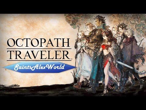Octopath Traveler [PC] Прохождение на русском 1 - Сэр Ольберик- Несгибаемый клинок. Босс Гастон