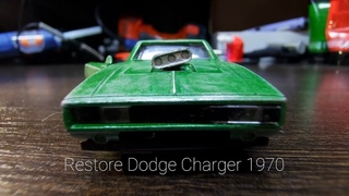 The Fast and the Furious / Restoration Damaged Dodge Charger Super Muscle Model Car in 10 Minutes