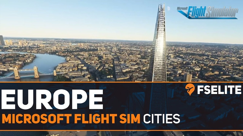 Microsoft Flight Simulator - European Cities