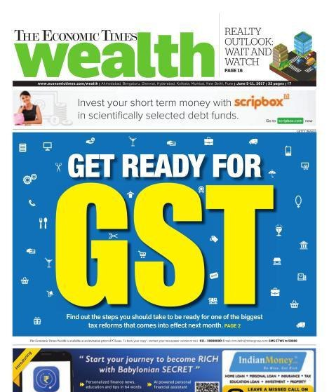 The Economic Times Wealth June 511 2017