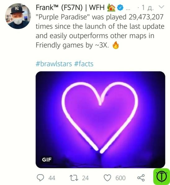 Немного различной информации из твиттера Фрэнка за прошедший
