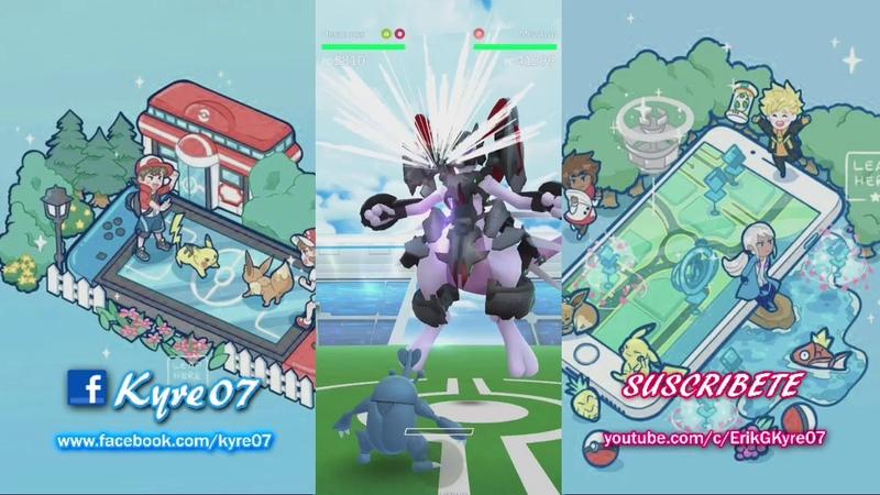 Pokémon Go - EL MEJOR- MEWTWO ARMOR - LLEGAMOS a Lv. 40 x3