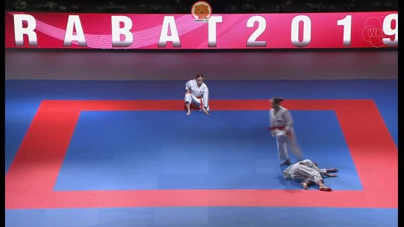 Open Rabat 2019: Россия - Италия. Финал женского командного ката