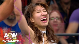 #AEW DYNAMITE EPISODE 1: RIHO IS THE FIRST EVER WOMEN'S WORLD CHAMPION