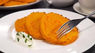Аппетитно, вкусно и полезно! МОРКОВНЫЕ КОТЛЕТЫ к завтраку или на ужин. Рецепт от Всегда Вкусно!