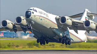 30 GREAT TAKEOFFS from UP CLOSE   C17 A380 B757 A350 B747   Manchester Airport Plane Spotting
