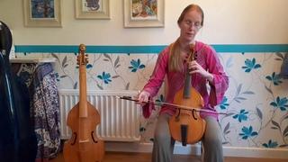 22 - Gastoldi duos - No 5, treble viol