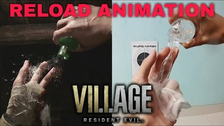 Reload Animation In Real Life   Resident Evil 8