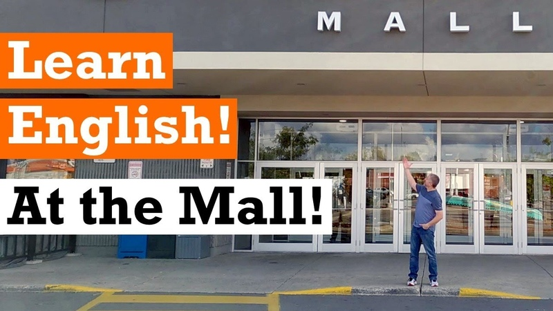 Let's Learn English at the Shopping Mall English Video with Subtitles