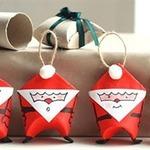 Санта-Клаус — игрушка-упаковка для конфет (мастер-класс)