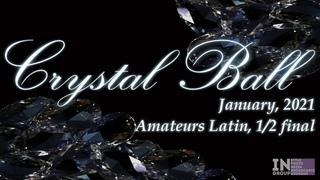 Taha Batu Cosar - Alexandra Povzun   R3 Rumba   Crystal Ball 2021