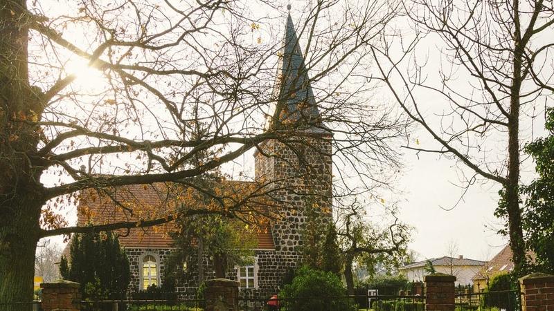 Güterfelde и церковь тринадцатого века