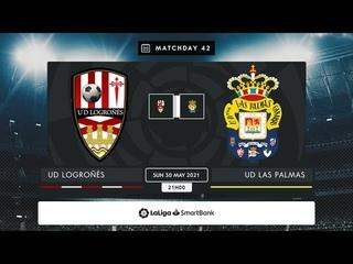 UD Logroñés - UD Las Palmas MD42 D2100