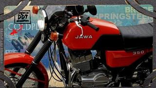 JAWA 350-638 тест драйв после реставрации