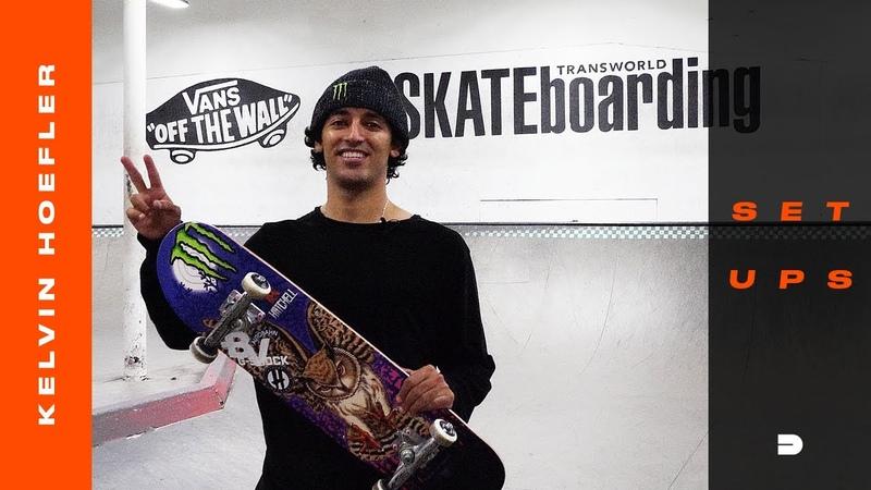 Setups Kelvin Hoefler Details Powell Peralta Skateboard Tensor Trucks Autobahn Wheels More