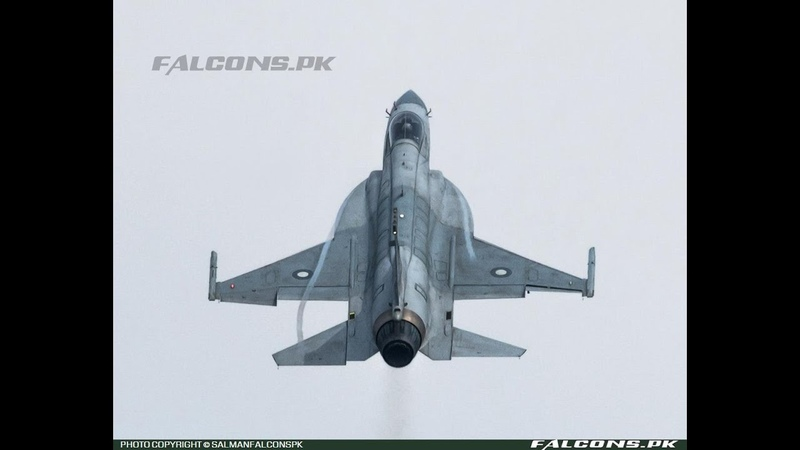 PAF JF 17 Thunder Solo Display pilot Wg Cdr Yaser Mudassar over Islamabad March 2020