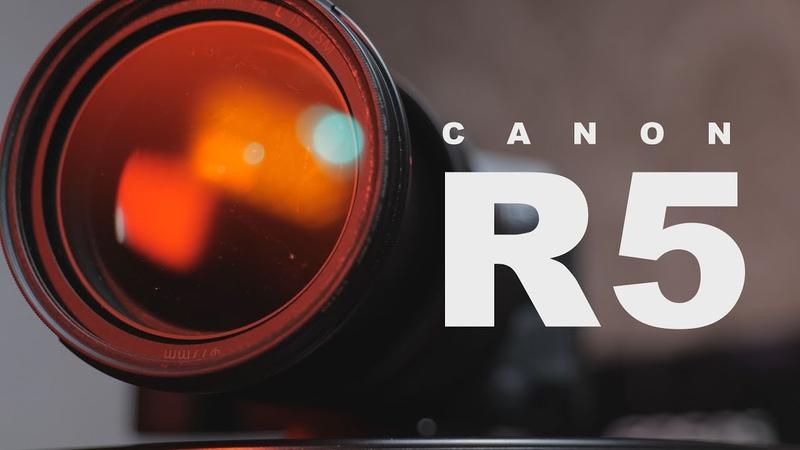 CANON R5 ручной фокус и фейковый перегрев СНимаю без ограничений Sony a7siii