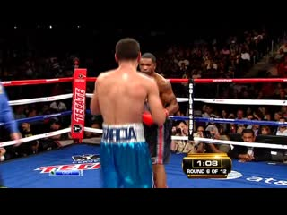 2011-10-15 Kendall Holt vs Danny Garcia (vacant WBO Inter-Continental Junior Welterweight Title)